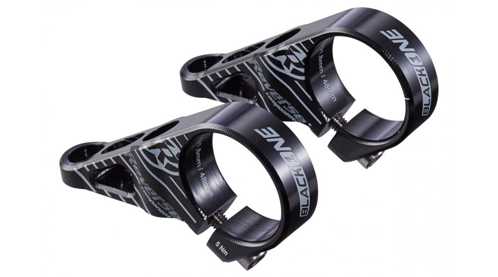 Reverse Black One Direct Mount Vorbau 31.8x48mm 0° black/grey
