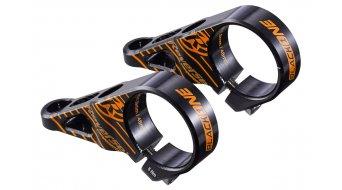Reverse Black One Direct Mount Vorbau 31.8x48mm 0° black/fox-orange