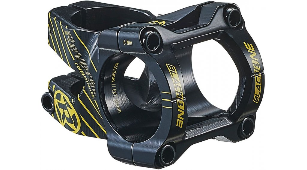Reverse Black One Enduro 把立 31.8x35mm 0° black/yellow