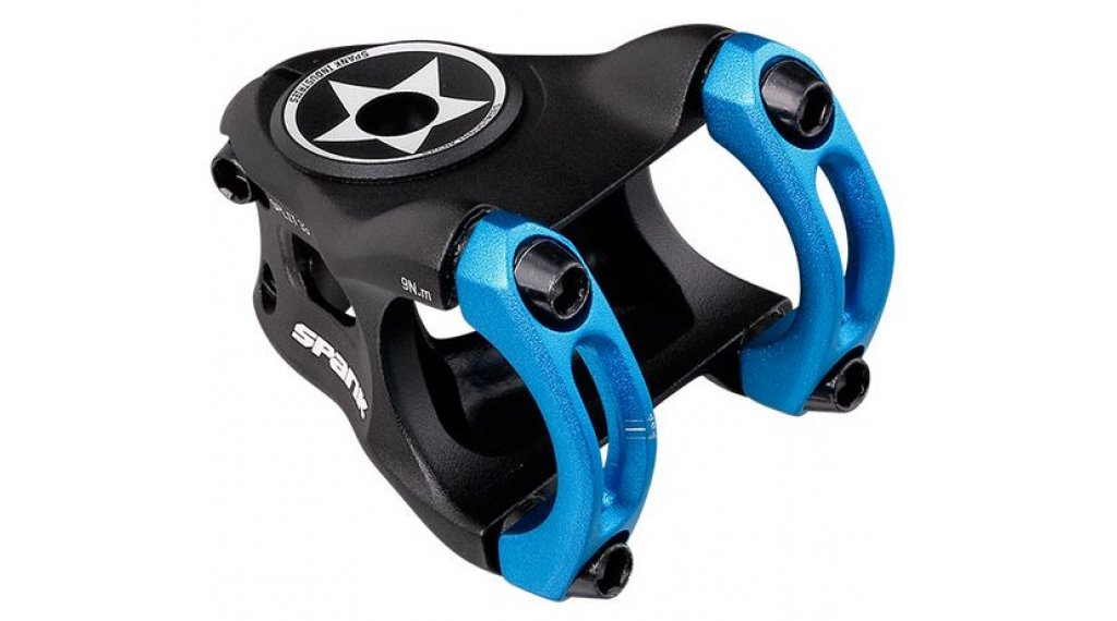 Spank Split Enduro Vorbau 31.8x33mm blue