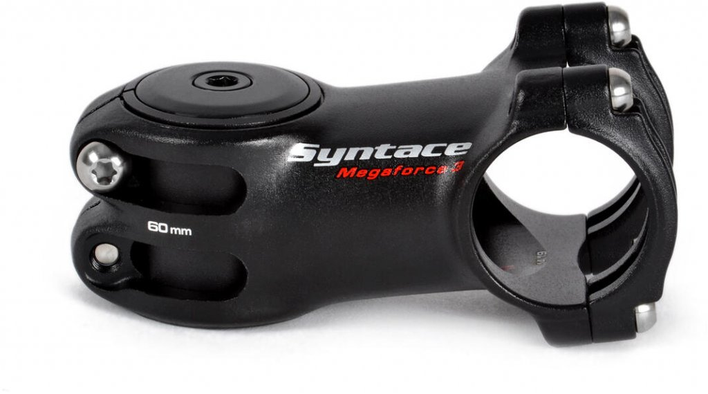 Syntace MegaForce3 attacco manubrio 31.8x60mm nero