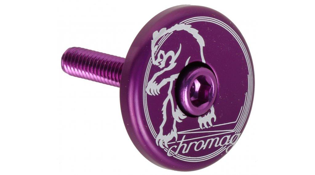 Chromag Logo Top Cap purple