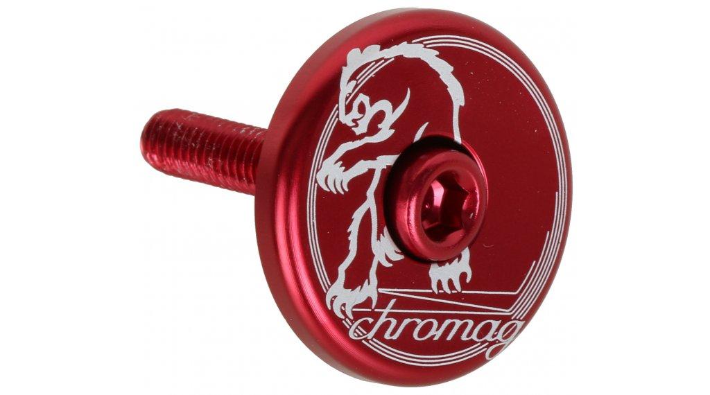 Chromag Logo Top Cap red