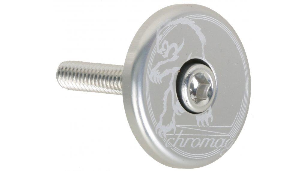 Chromag Logo Top Cap polished