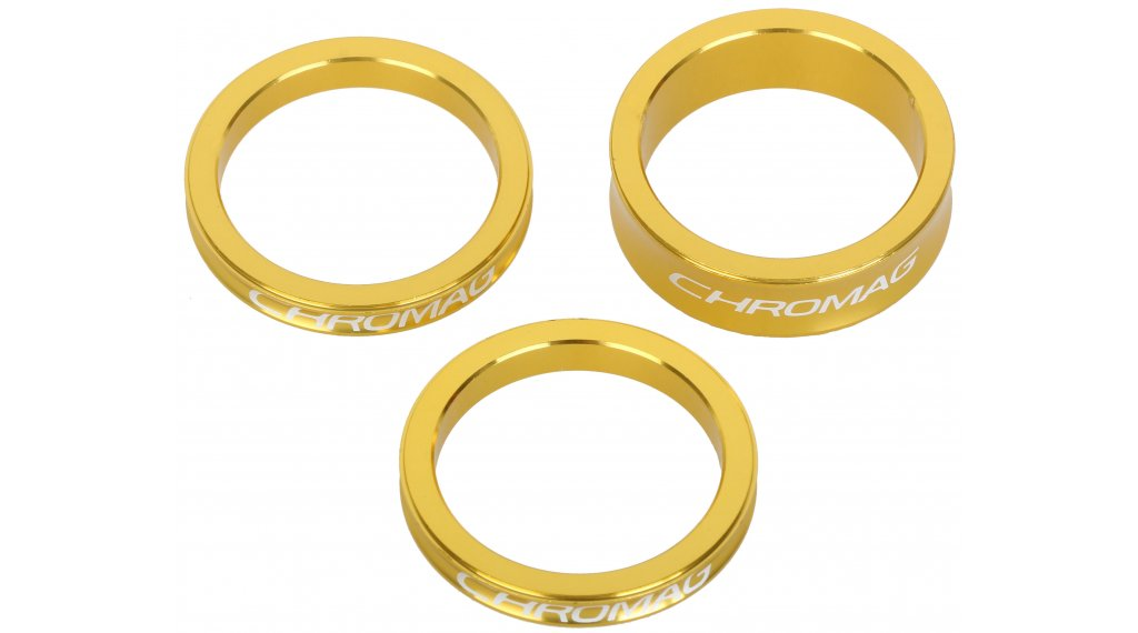 Chromag Vorbau Spacer Kit gold
