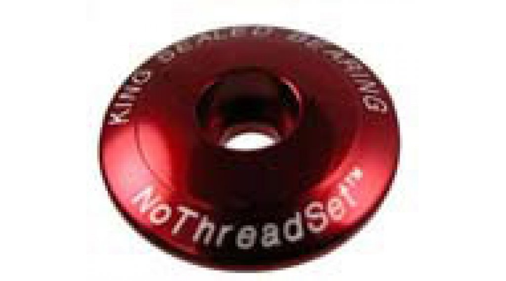 Chris King NoThreadSet Ahead Kappe 1 Sotto Voce-Logo red
