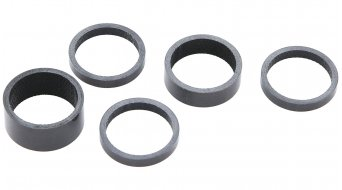 "Contec Spacer Set 1 1/8"" carbonio"