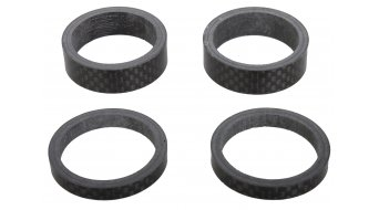 Look Spacer kit Carbon 2x 10mm 2x 5mm, compatibile per 1 1/8 (senza Logoaufdruck)