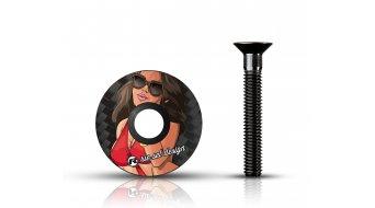 """Riesel Design stem:cap Vorbau Ahead-Kappe 1 1/8"""" girl mk II"""