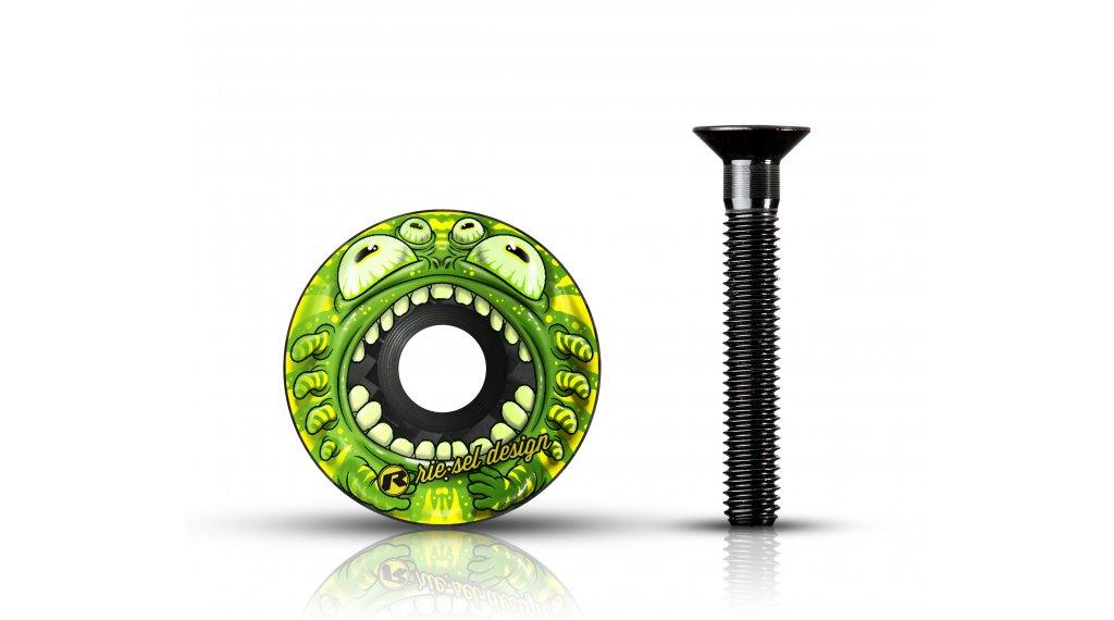 """Riesel Design stem:cap Vorbau Ahead-Kappe 1 1/8"""" monster mk II"""