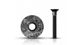 """Riesel Design stem:cap Vorbau Ahead-Kappe 1 1/8"""" ub"""