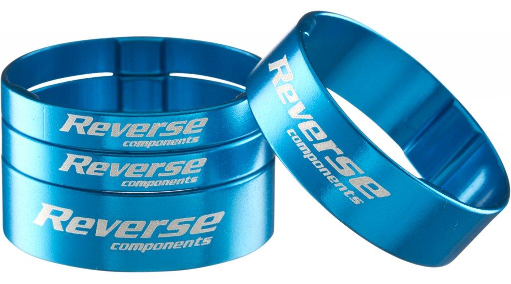 Reverse Ultra Light Alu Spacer Set 1 1/8 light blue