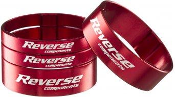 Reverse Ultra Light Alu Spacer Set 1 1/8 red