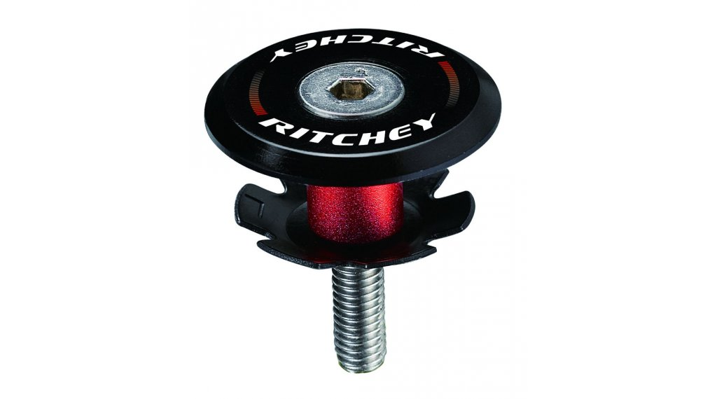 "Ritchey Superlogic Ahead Kappe 1 1/8"" black"