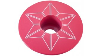 Supacaz Star Capz Power Coated Ahead-sapka neon pink