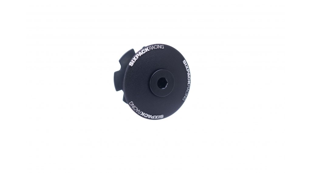 "Sixpack Menace Aheadcap 1 1/8"" black"
