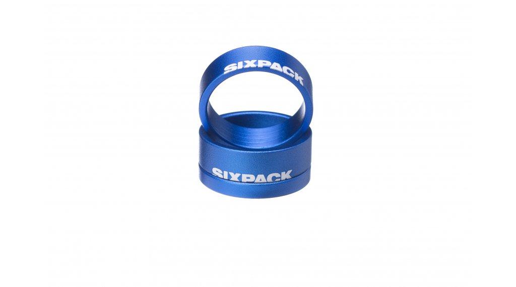 "Sixpack Menace Spacer 1 1/8"" blue"