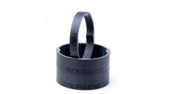 "Sixpack Vertic Carbon Spacer 1 1/8"" stealth black"