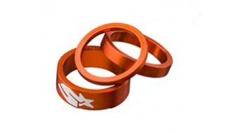 "Spank Spacer-Set 1-1/8"" 3/6/12mm orange"