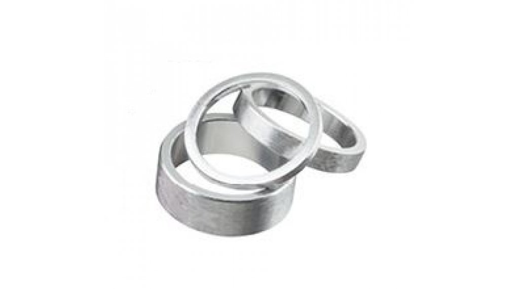 "Spank Spacer-Set 1-1/8"" 3/6/12mm silver"