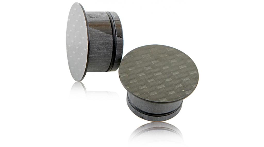 """Schmolke Carbon Ahead-Kappe 21.6mm für 1 1/8"""" Gabeln"""