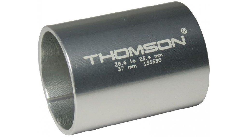 """Thomson Reduzierhülse für A-Head Vorbau 1 1/8""""auf 1"""" 37mm silber"""