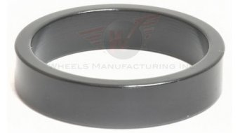 """Wheels Manufacturing 1.5/"""" CARBON Headset Spacer 3mm Stack Height Black 1-1//2 NEW"""
