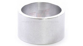 "Wheels Manufacturing Headset Spacer 1 1/8"" 20.0mm (1 Stk) silver"