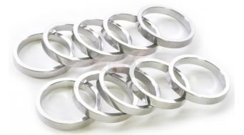 "Wheels Manufacturing Headset Spacer 1 1/8"" 5.0mm (5 Stk) silver"