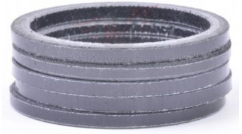 "Wheels Manufacturing Headset Spacer Carbon 1 1/8"" 2.5mm (5 Stk) UD black"