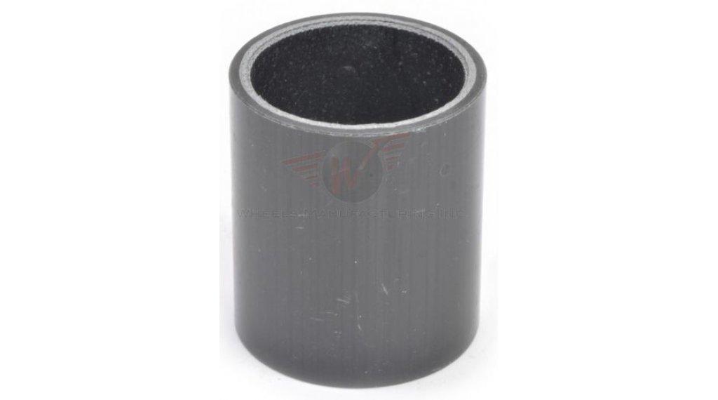 "Wheels Manufacturing Headset Spacer Carbon 1 1/8"" 20.0mm (1 Stk) UD black"