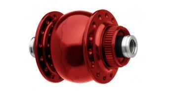 SON 28 Disc 12 Vorderrad Nabendynamo 36 Loch 12x100mm Center-Lock rot eloxiert