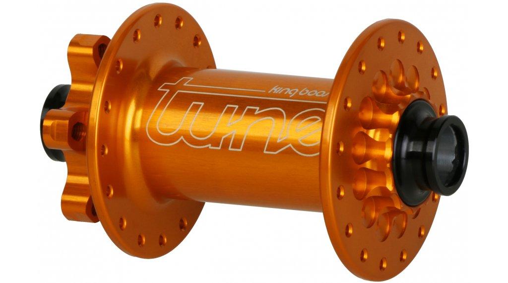 Tune KINGkong Boost MTB Disc Vorderradnabe 28 Loch 15x110mm orange