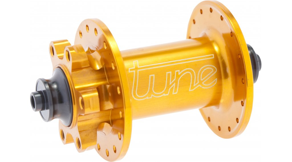 Tune KINGkong QR5 MTB Disc Vorderradnabe 32 Loch QR 100mm orange