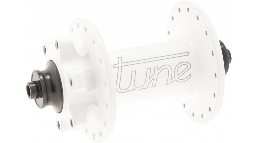 Tune KINGkong QR5 MTB Disc Vorderradnabe 32 Loch QR 100mm weiß