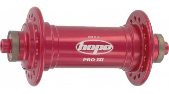 Hope Pro 3 front wheel hub 32 hole silver