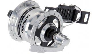 Shimano DH-3N80 rueda delantera-Sport-dinamo de cubo 3 W 100mm 36 agujeros incl. Überspannungsschutz SM-DH10 color plata