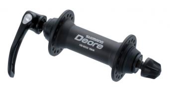 Shimano Deore buje rueda delantera 36 agujeros color plata HB-M530