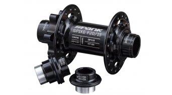 Spank Spike J-Hook buje rueda delantera negro