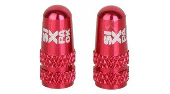 Sixpack tapadera de válvula F/V rojo(-a)