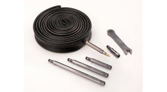 Zipp Aluminium Ventilverlängerung mit Werkzeug für Schlauchreifen