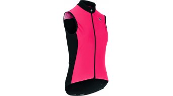 Assos Uma GT Spring Fall Airblock vest no sleeve ladies size L galaxyPink