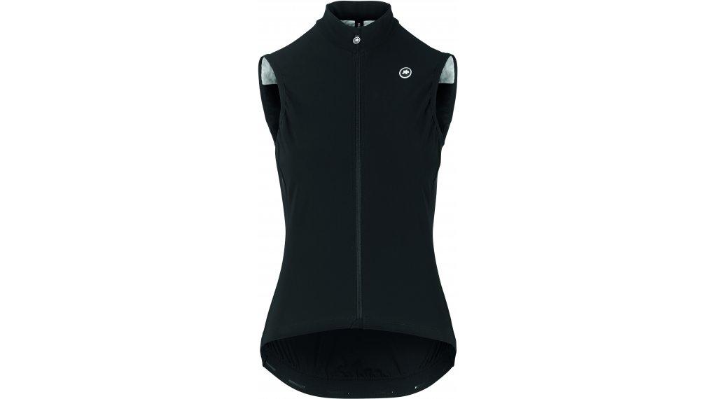 Assos Uma GT Spring Fall Airblock vest no sleeve ladies size L blackSeries