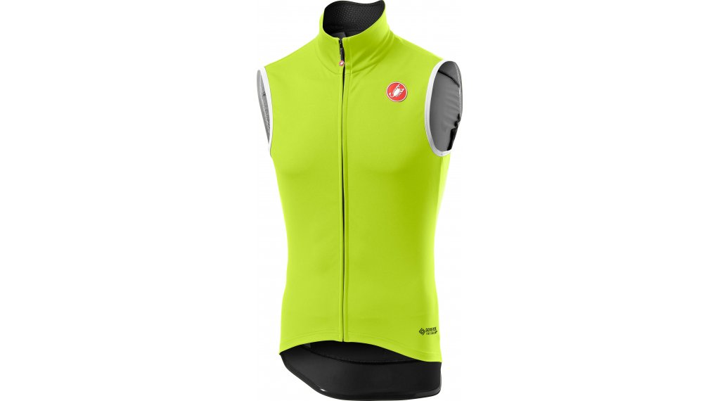 Castelli Per grease o RoS vest men size S yellow fluo