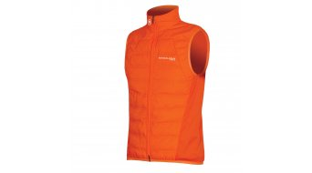 Endura Pro SL Primaloft road bike-Wind vest men size XL neon-orange