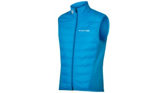 Endura Pro SL PrimaLoft® Gilet road bike vest men HiVizBlue