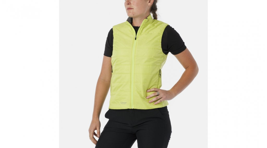 Giro logo Insulated vest ladies size L yellow