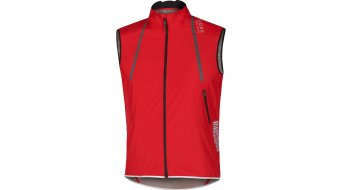 GORE Bike Wear Oxygen chaleco Caballeros-chaleco bici carretera Windstopper Active Shell Light rojo