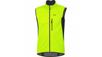 GORE C3 Windstopper Weste Herren neon yellow/black