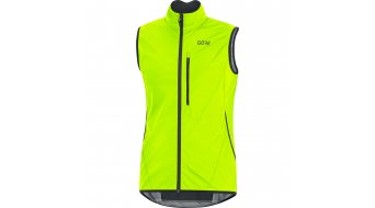 Gore C3 Gore Windstopper Light vest men neon yellow/black